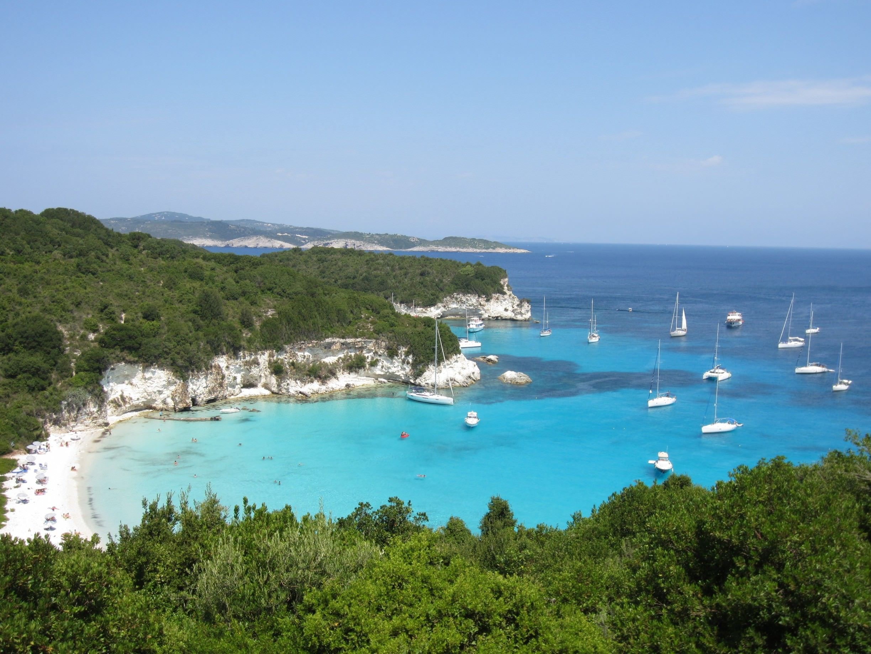 Sailing to Antipaxos with Lepanto Yachting