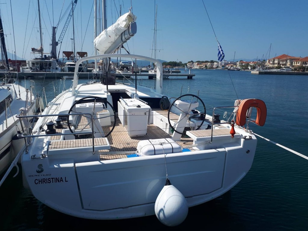 Preveza sailing with Oceanis 46.1, lepanto yachting